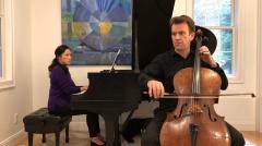 UMass Music & Dance @ Home: Edward Arron, cello, with guest pianist Jeewon Park