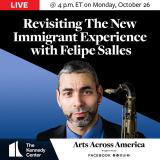 Felipe Salles to be Featured in Kennedy Center Series