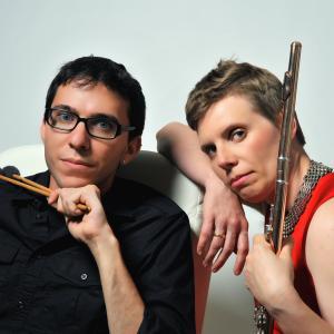 Zara Lawler, flute & Paul J. Fadoul