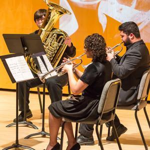 Part of a Brass Quintet