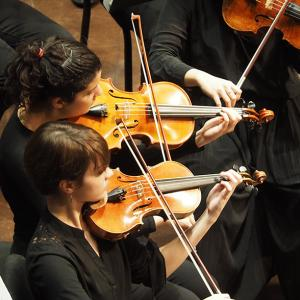 Members of All-University Orchestra
