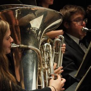 UMass student brass ensemble