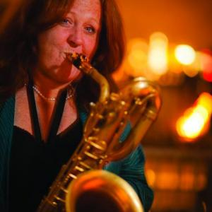 Claire Daly, baritone saxophone