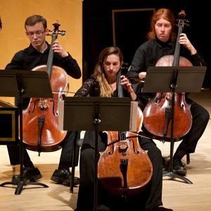 Baroque cello section