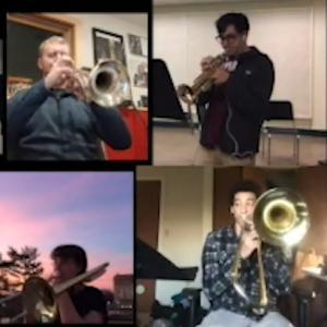 Members of UMass Jazz Ensemble