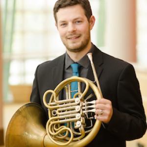Josh Michal, horn soloist