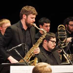 Dann Friedman, sax soloist