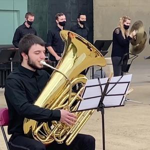 Members of WInd Ensemble