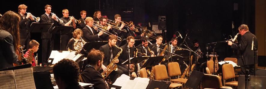 Jazz Ensemble I, Jeff Holmes, director