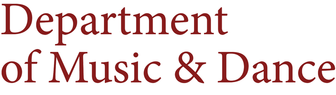Department of Music & Dance