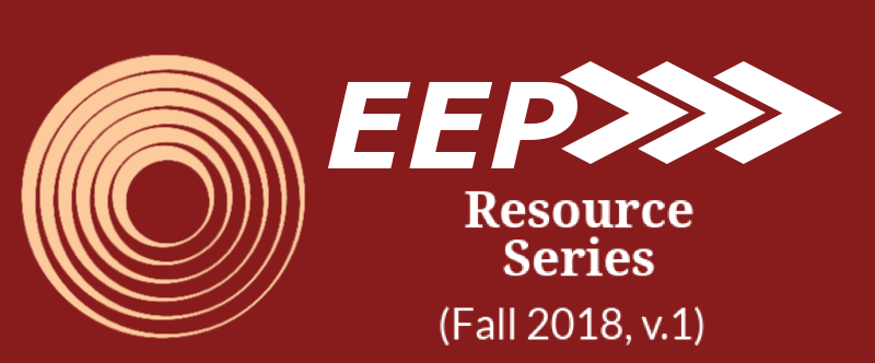 EEP Resource Series (Fall 2018, v.1)