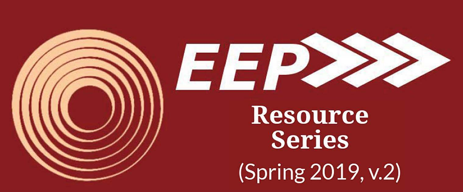 EEP Resource Series Spring 2019 v.2