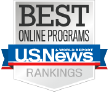 U.S. News Ranked in Best Online Programs