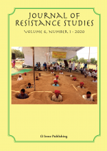 image of cover of Journal of Resistance Studies