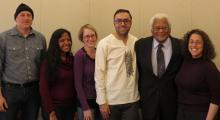 Reverend James Lawson, Jr. and Peace Program members