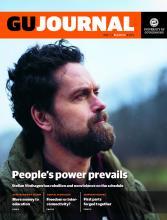 Stellan Vinthagen interviewed in University of Gothenburg Journal