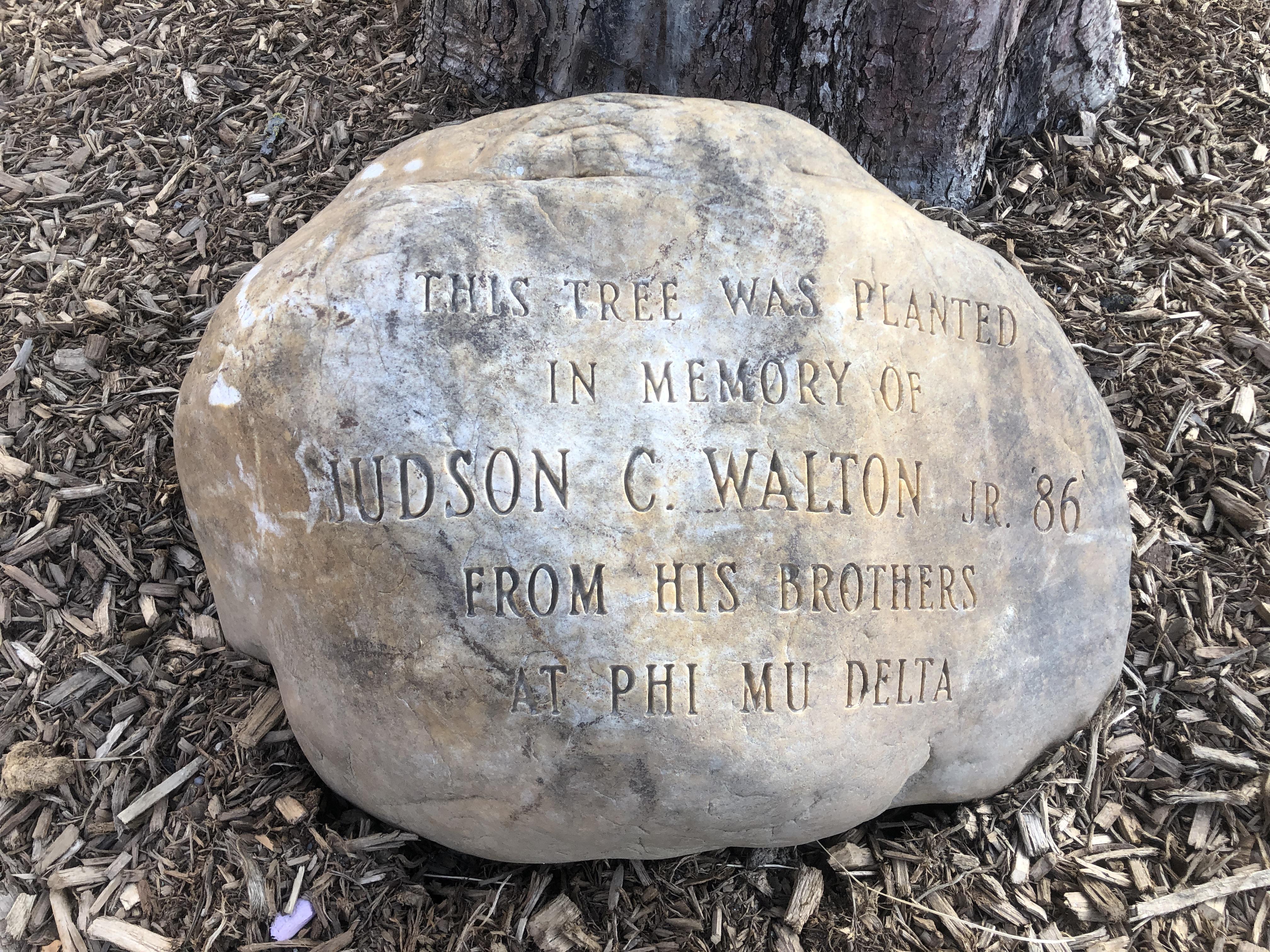Judson C. Walton Jr. Marker
