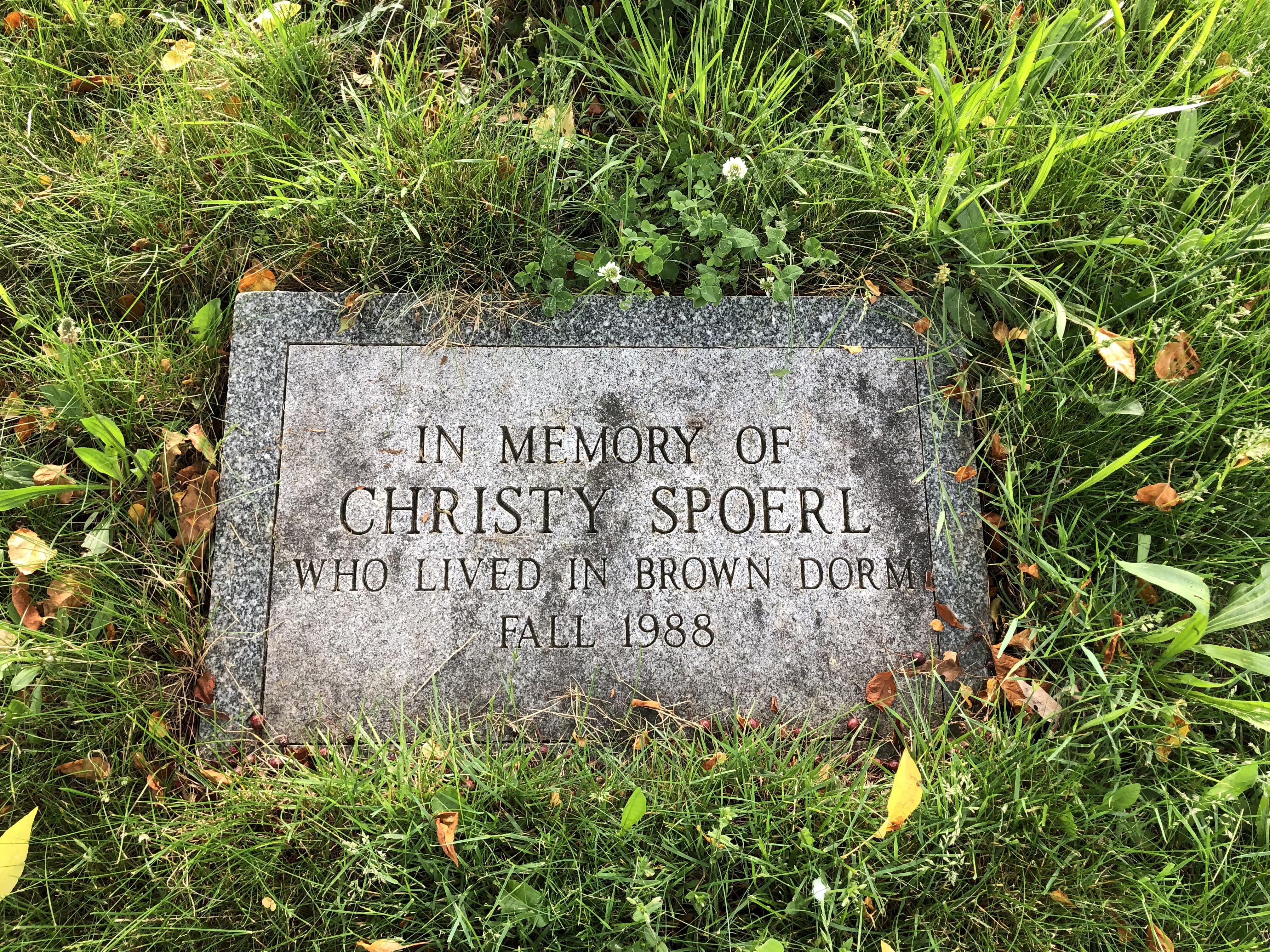 Christy Spoerl Marker