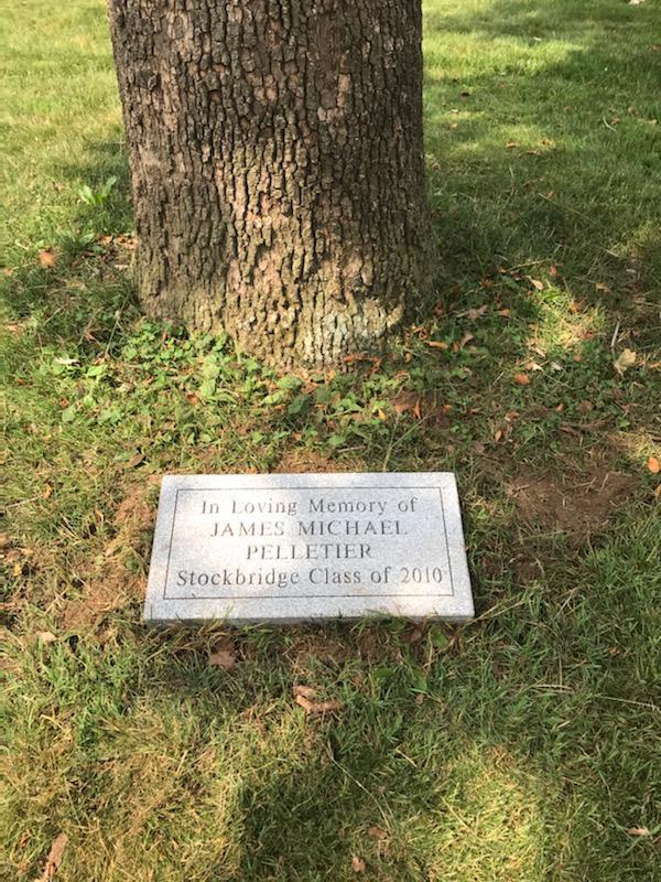 In Loving Memory of James Michael Pelletier - Stockbridge Class of 2010
