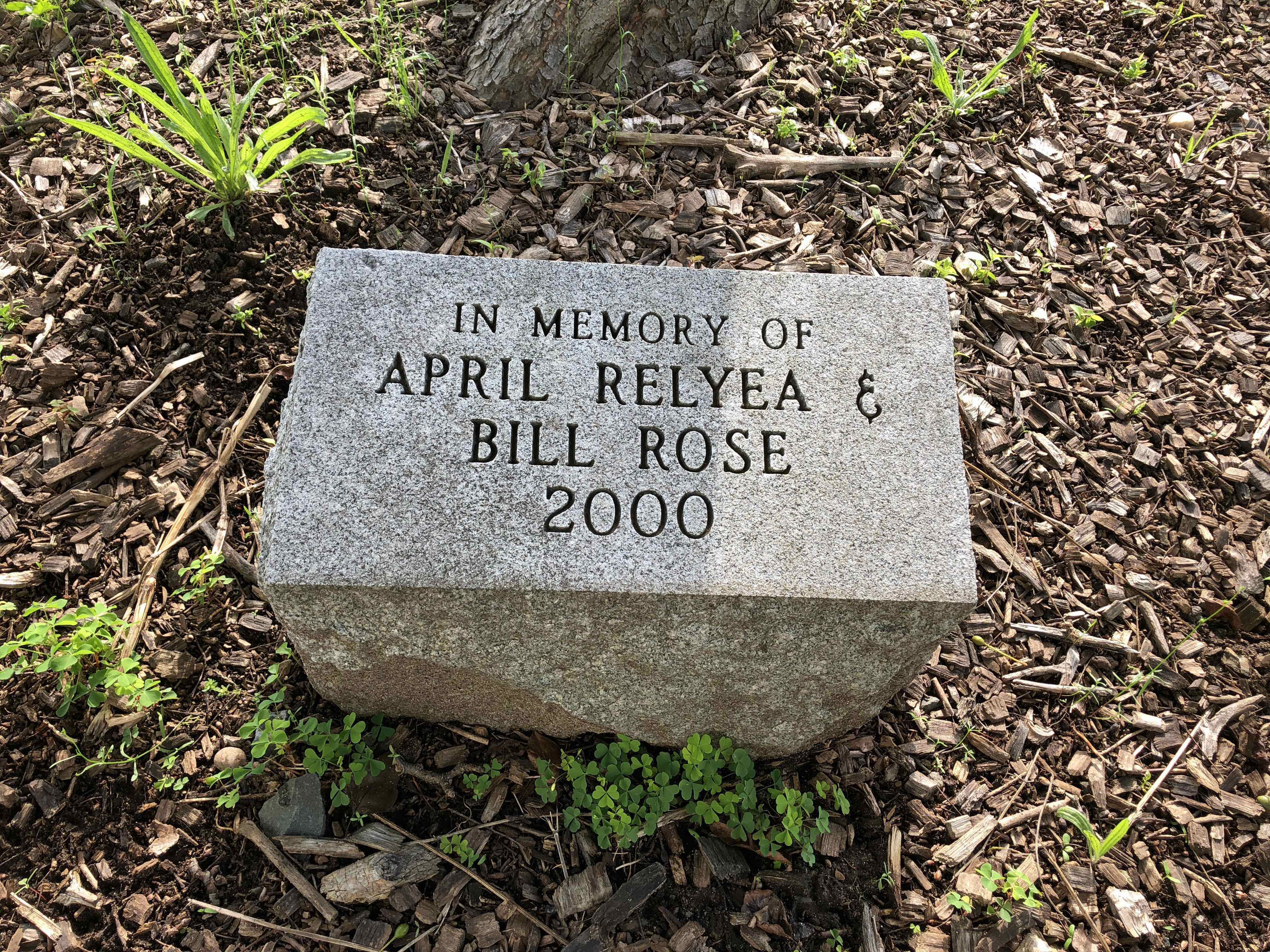 William Rose and April Relyea Marker