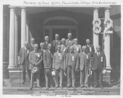 Class of 1882 at 50th reunion, June 11, 1932