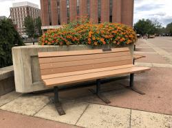 Robert W. Fuller Tribute Bench