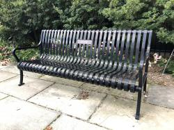 POW Tribute Bench