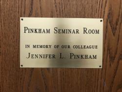 Door to Pinkham Seminar Room