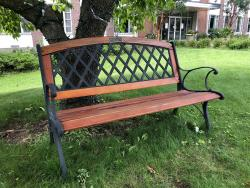 Deacon Richard and Joanne Talbot Tribute Bench