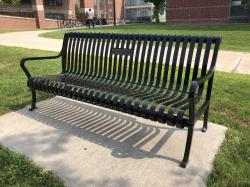 Merit P. White Tribute Bench