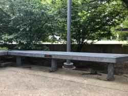 Edward & Frances Craig Tribute Bench