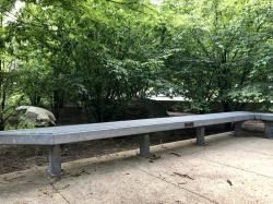 Milton C. Taft Tribute Bench