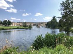 Campus Pond, former location of 1887 MAC