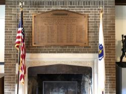 World War II Memorial Plaque