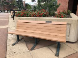 Lambda Chi Alpha Tribute Bench