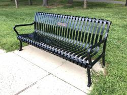 Doug Cooney Tribute Bench