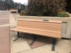Lawrence W. Parrish & Family Tribute Bench