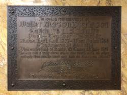 Walter Mason Dickinson Plaque