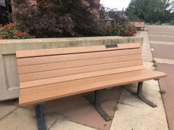 Robert S. August Family Tribute Bench
