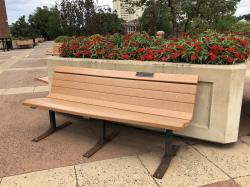 Robert & Mary Ellen (Boland) Ames Tribute Bench