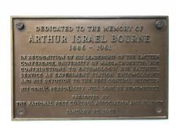 Arthur I. Bourne Tribute Plaque