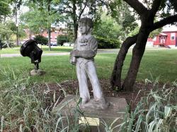 Dorothy M. Rose Tribute Sculpture