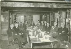 Faculty members of the Shubenacadie Club, ca. 1942. University Photograph Collection (RG 120_1). Special Collections and University Archives, University of Massachusetts Amherst Libraries