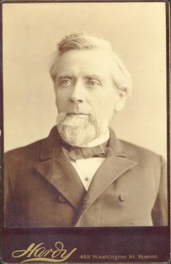 James C. Greenough, ca. 1886, Photo: Special Collections and University Archives, University of Massachusetts Amherst Libraries