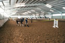 Lawrence Riding Arena, Photo: UMass Equine and Livestock Research and Education Farm