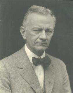 Kenyon L. Butterfield, ca. 1924