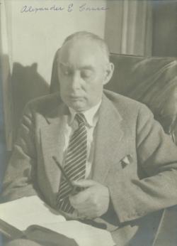 Alexander E. Cance, 1923