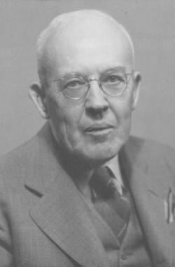 Portrait of Walter E. Prince, ca. 1930
