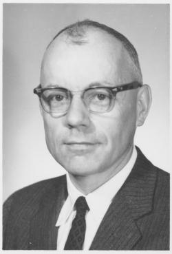 Arnold Rhodes, ca. 1957