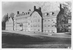 Butterfield Hall, Photo: Special Collections and University Archives, University of Massachusetts Amherst Libraries